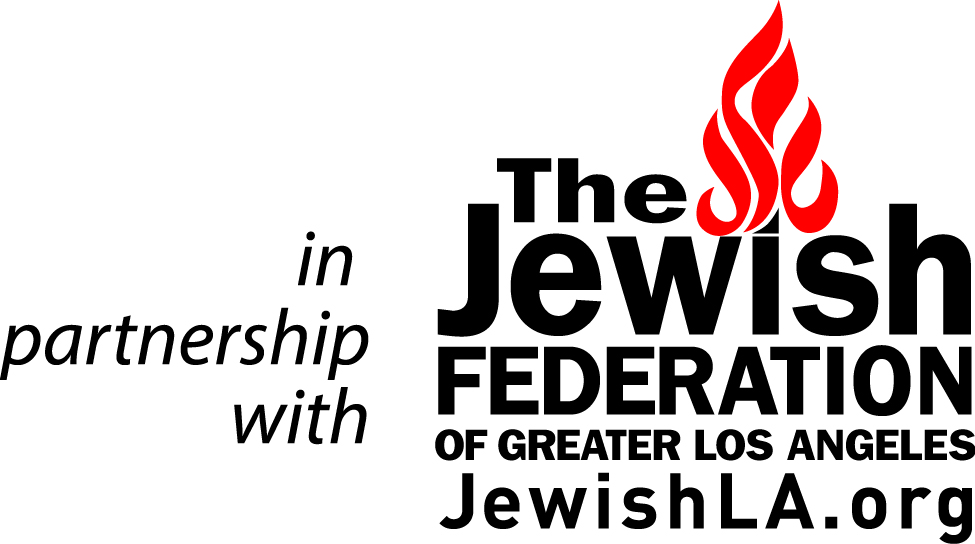 Jewish Federation In Partnership With Logo